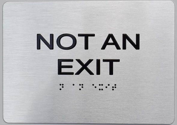 NOT an EXIT ADA Sign
