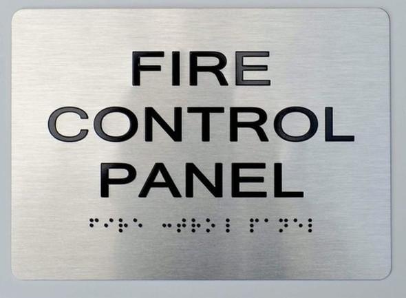 ada fire alarm control panel silver