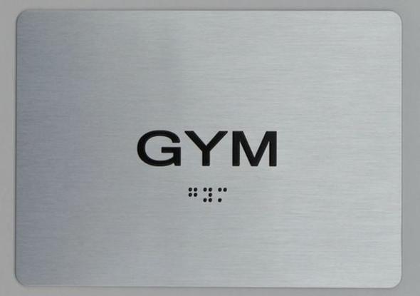 GYM ADA Sign -Tactile Signs  The sensation line Ada sign