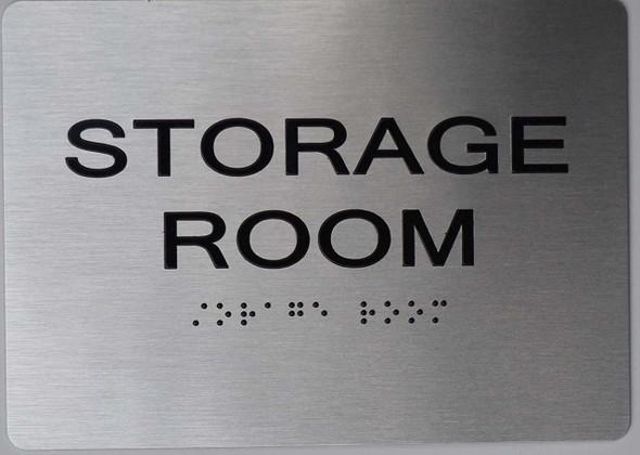 Storage Room ADA  -Tactile s The Sensation line