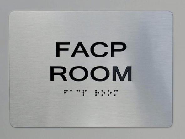 FACP Room ADA-Sign -Tactile Signs The sensation line  Ada sign