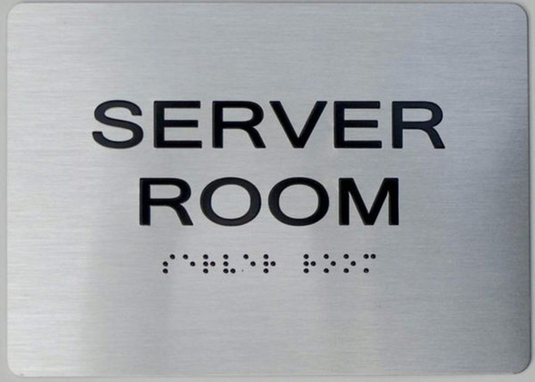 ADA Server Room Sign
