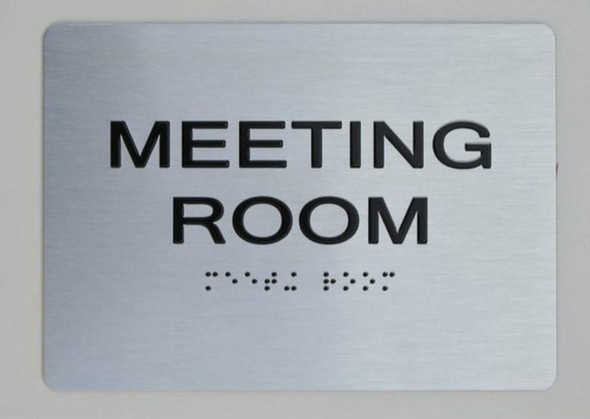 Meeting Room ADA Sign