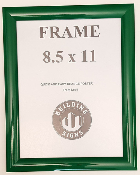Green Snap Poster Frame/Picture Frame/Notice Frame Front Load Easy Open Snap Frame