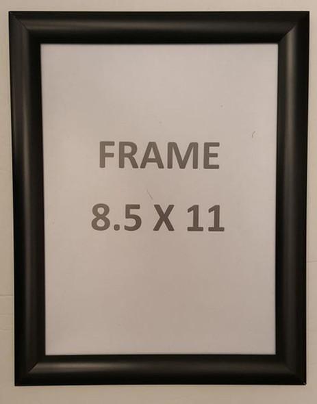 Black Snap Poster Frame/Picture Frame/Notice Frame