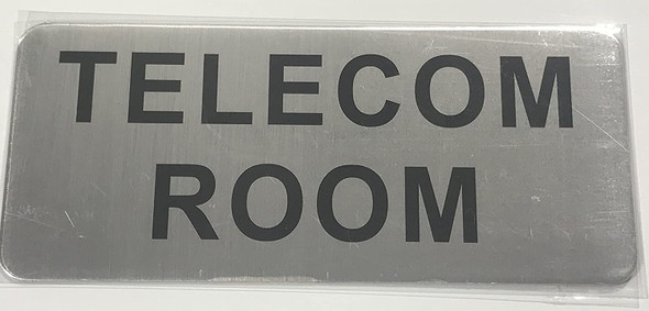TELECOM ROOM SIGN-The Mont argent line