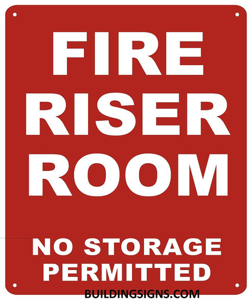 Riser Room Signs
