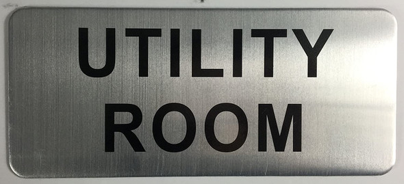 UTILITY ROOM SIGN-The Mont argent line