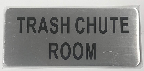 TRASH CHUTE ROOM SIGN-The Mont argent line