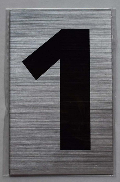 Apartment Number Sign - one (1)