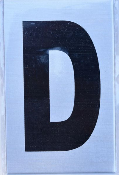 Apartment Number  - Letter D