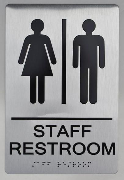 Restroom Sign ADA SIGN