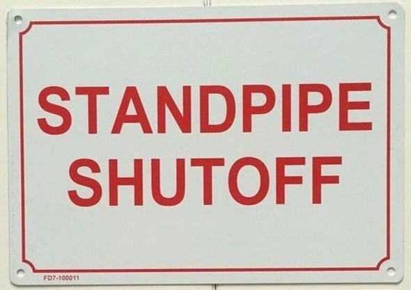 STANDPIPE SHUTOFF