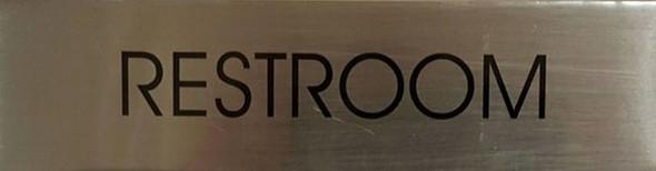 RESTROOM SIGN - Delicato line