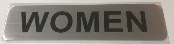 RESTROOM WOMEN Sign