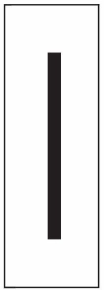 """PHOTOLUMINESCENT DOOR NUMBER I SIGN HEAVY DUTY / GLOW IN THE DARK """"DOOR NUMBER"""" SIGN HEAVY DUTY (ALUMINUM SIGN/ APARTMENT AND EMERGENCY MARKINGS 1.5 X 0.5)"""