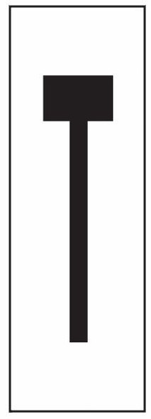 """PHOTOLUMINESCENT DOOR NUMBER T SIGN HEAVY DUTY / GLOW IN THE DARK """"DOOR NUMBER"""" SIGN HEAVY DUTY (ALUMINUM SIGN/ APARTMENT AND EMERGENCY MARKINGS 1.5 X 0.5)"""