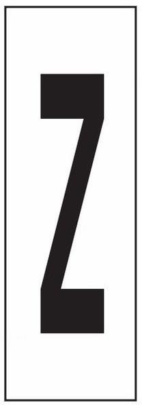 "PHOTOLUMINESCENT DOOR NUMBER Z SIGN HEAVY DUTY / GLOW IN THE DARK ""DOOR NUMBER"" SIGN HEAVY DUTY (ALUMINUM SIGNAP/ ARTMENT AND EMERGENCY MARKINGS 1.5 X 0.5)"