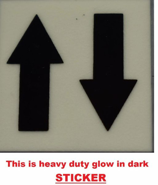 GLOW IN DARK UPWARDS AND