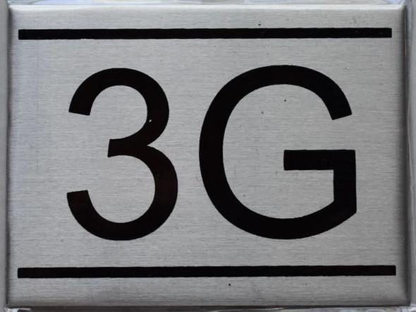 APARTMENT NUMBER  - 3G
