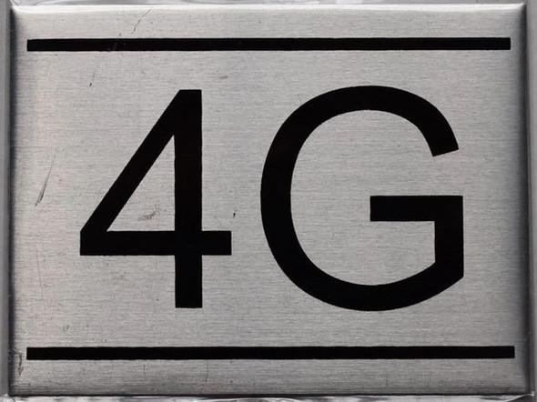 APARTMENT NUMBER  - 4G