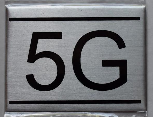 APARTMENT NUMBER  - 5G