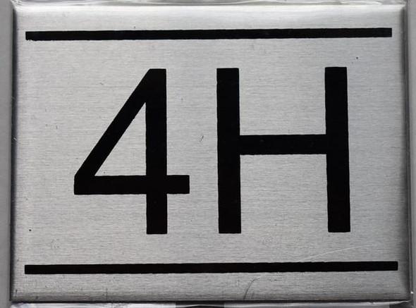 APARTMENT NUMBER  - 4H