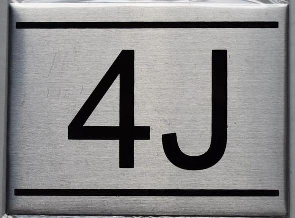 APARTMENT NUMBER  - 4J