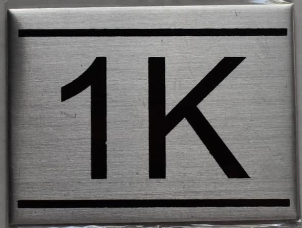 APARTMENT NUMBER  - 1K
