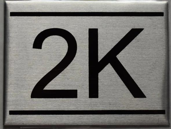 APARTMENT NUMBER  - 2K