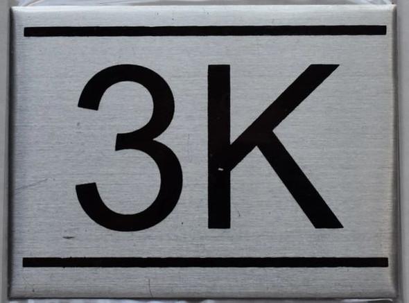 APARTMENT NUMBER  - 3K