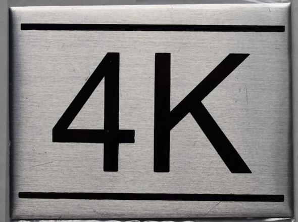 APARTMENT NUMBER  - 4K