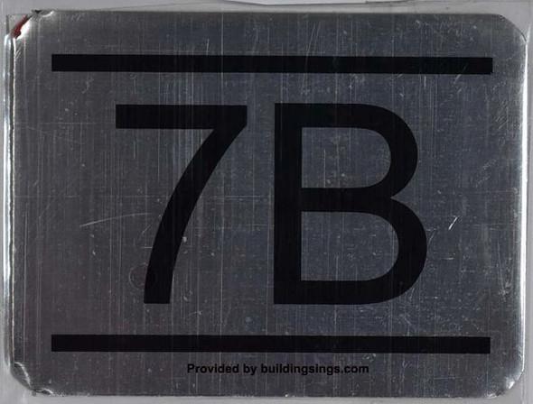 APARTMENT NUMBER – 7B