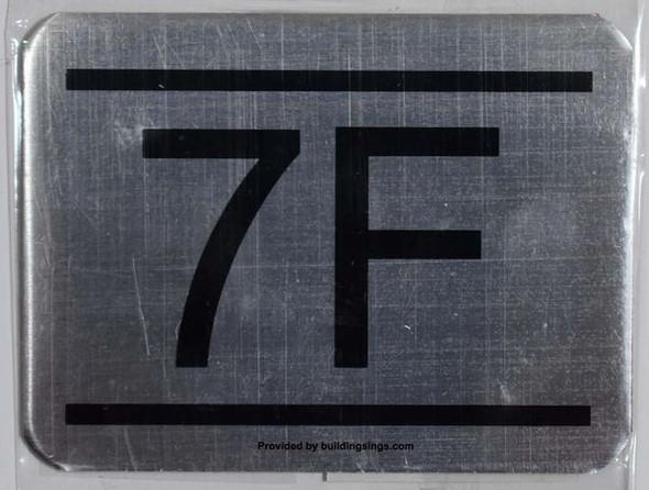 APARTMENT NUMBER – 7F