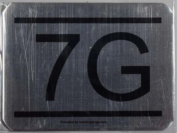 7g apartment number