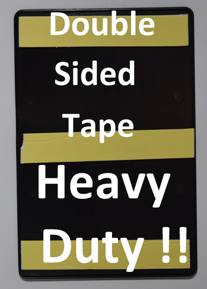 EXIT Sign- BLACK- BRAILLE (PLASTIC ADA SIGNS 9X6)- The Leather Sheffield ADA line