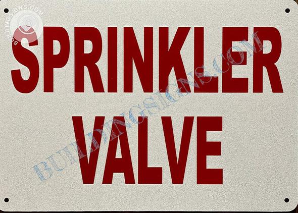Signage Sprinkler Valve
