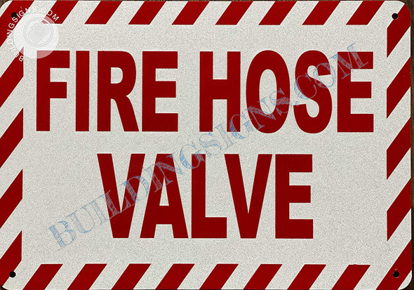 Sign FIRE Hose Valve