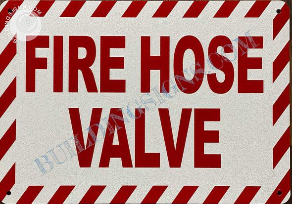Signage FIRE Hose Valve