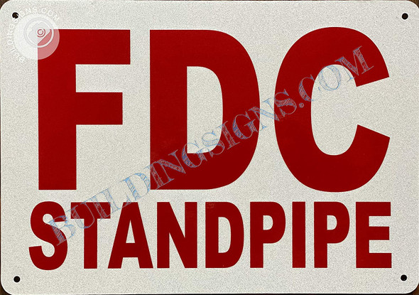 Sign FDC Standpipe