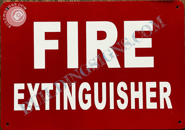 Signage 2PCS-Fire Extinguisher