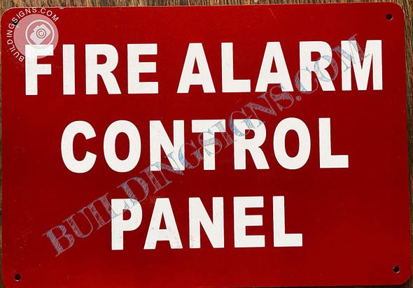 Sign FIRE Alarm Control Panel  - FACP
