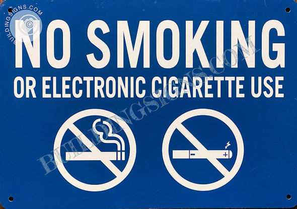 Sign NO Smoking OR Electronic Cigarette USE