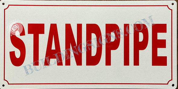 Sign Standpipe