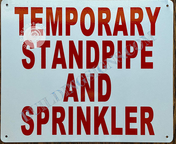 Temporary Standpipe and Sprinkler  Singange