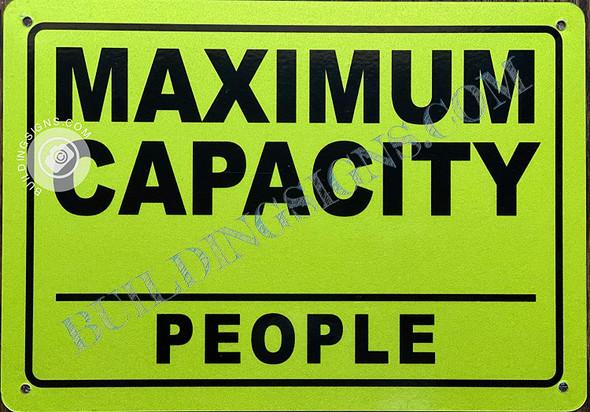 Maximum Capacity_ PEPOLE Sign
