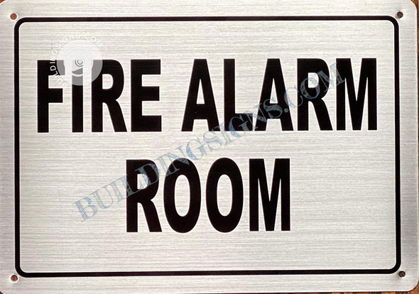 FIRE Alarm Room Sign