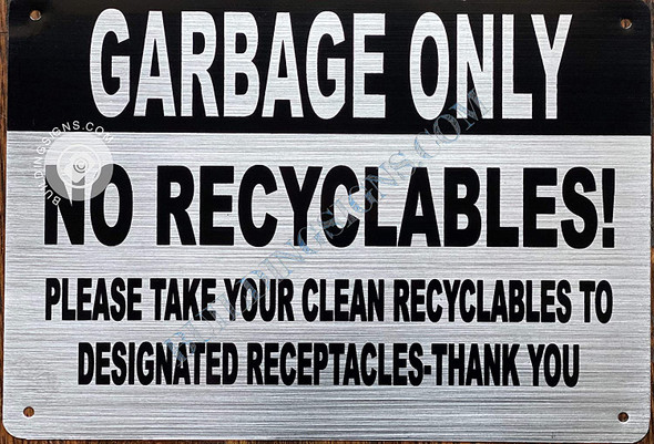 Garbage ONLY - NO
