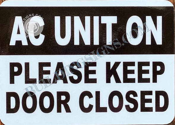 AC Unit ON: Please