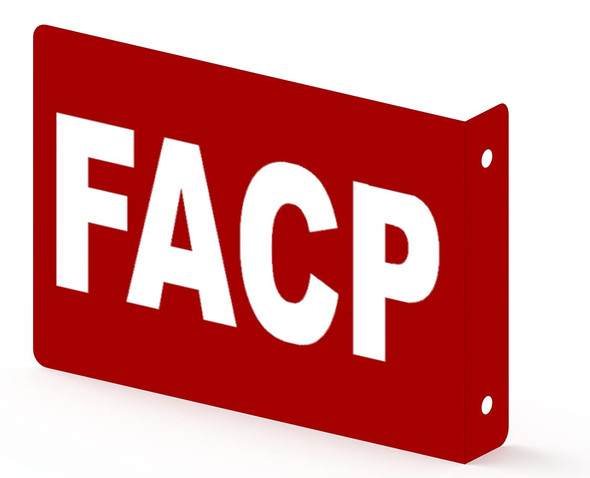 FACP Projection Sign- FIRE Alarm Control Panel 3D Sign